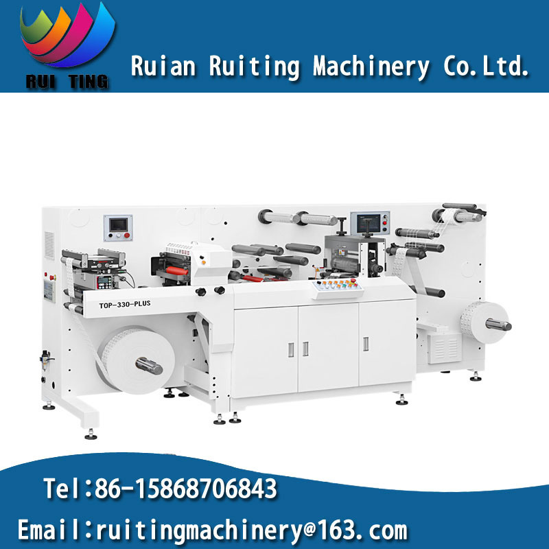 Rtop-330f Intermittent Rotary Die Cutting Machine with Flexo Print Unit