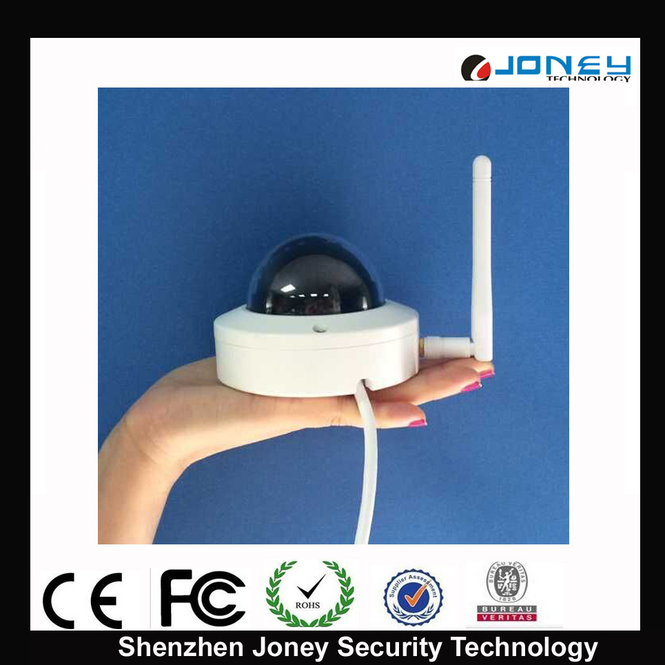 CCTV Mini WiFi Wireless Dome IP Camera (JYR-IPC1002DW)