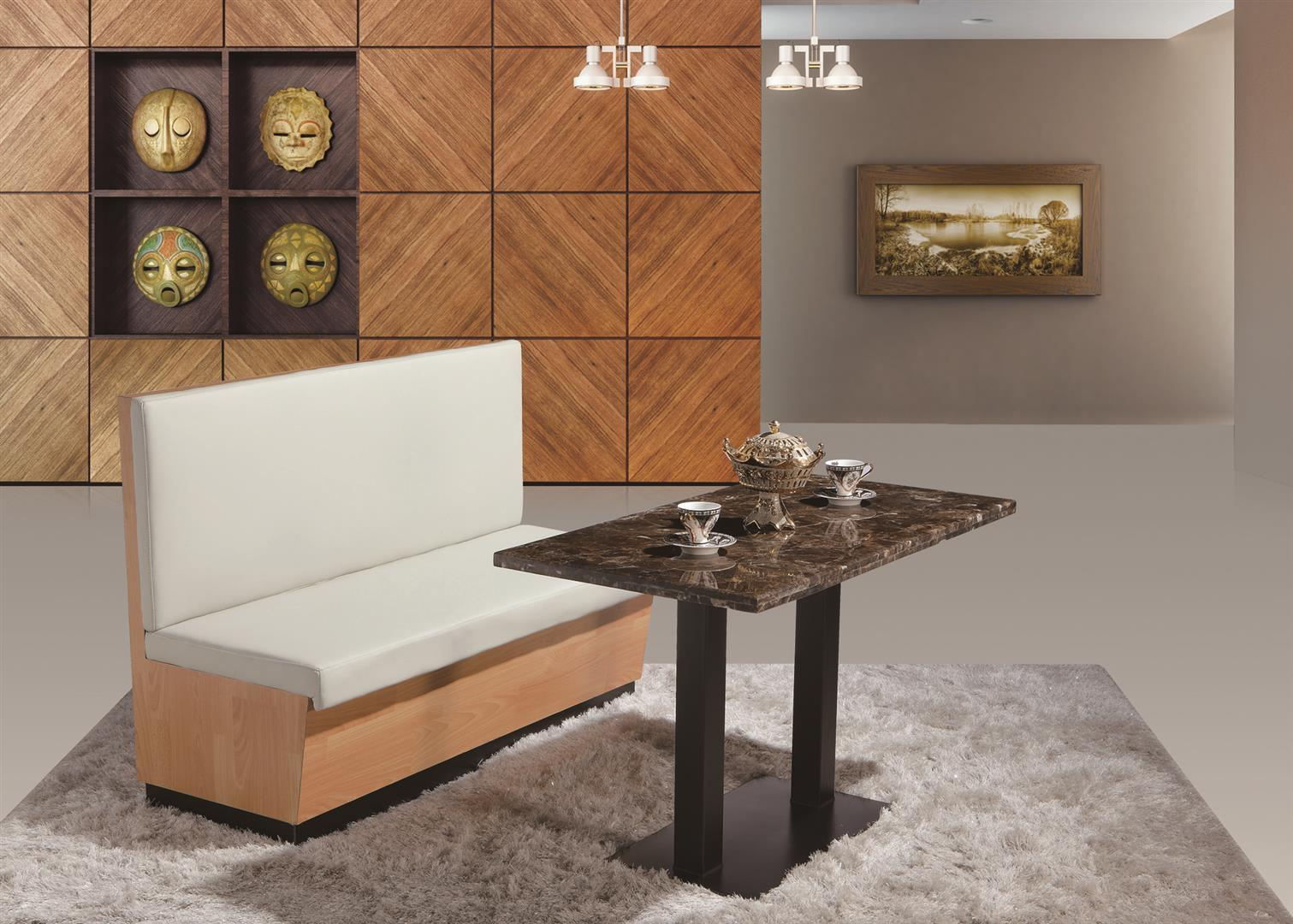 Dinner Dining Sofa And Table Set