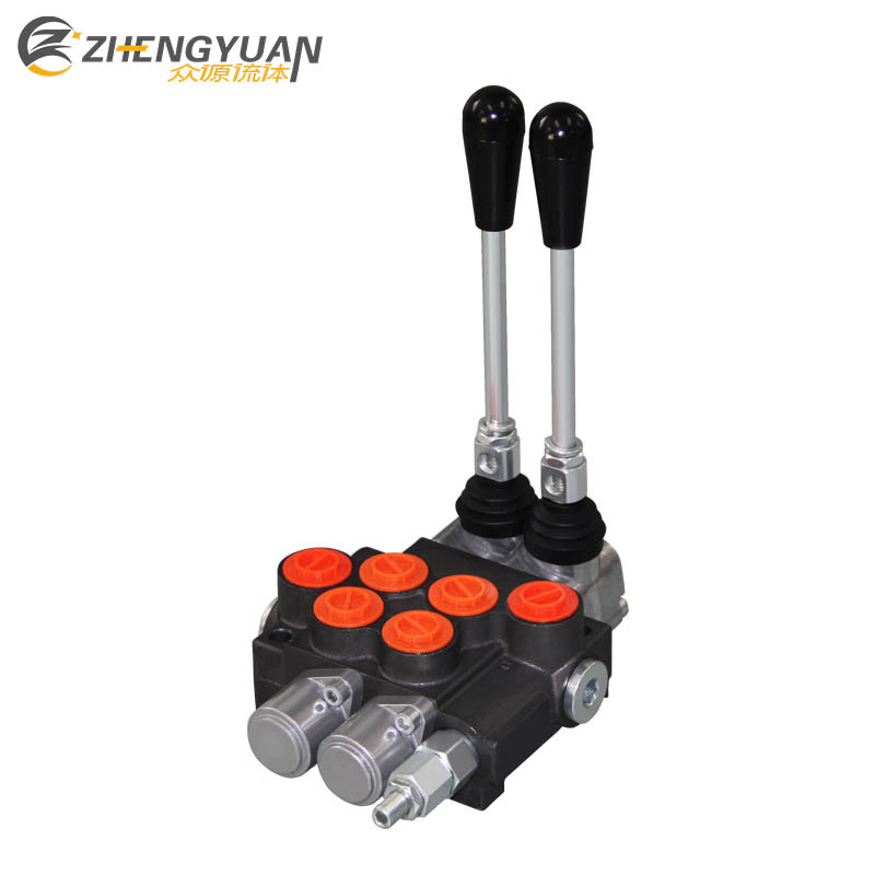 China Zhongyuan P40 Hydraulic Valve with Remote Control 1 5m Cable