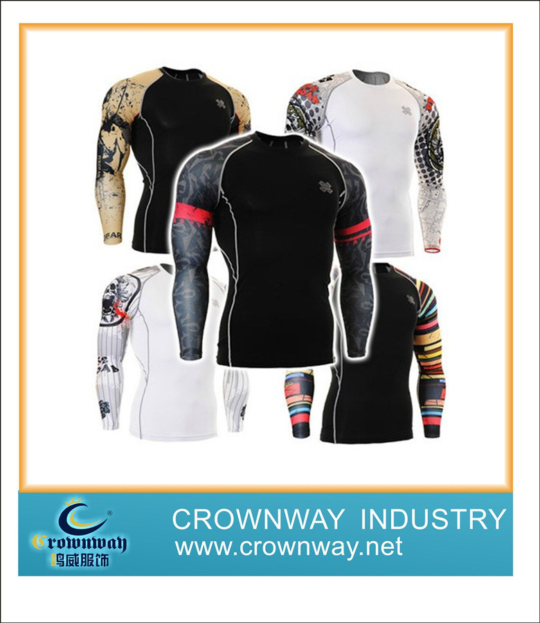 Long Sleeve Compression Sportswear & Cycling Jersey