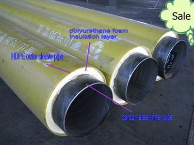China Underground Polyurethane Foamed Thermal Insulated