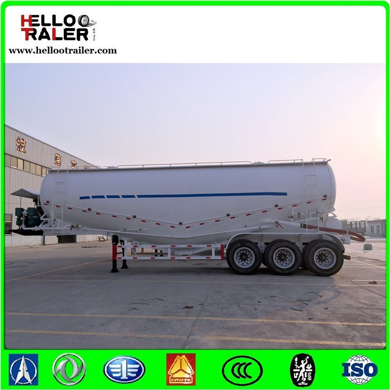 3axle 40m3 Cement Transport Trucks Tank Semi Trailer pictures & photos