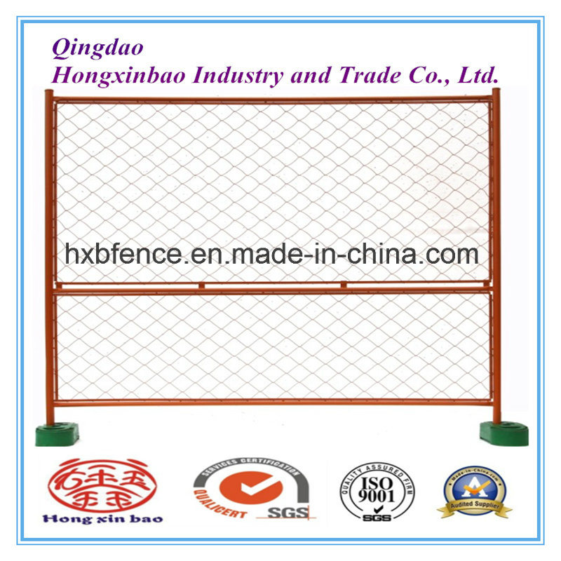 Wire Mesh Powdering Coated Temporary Fence