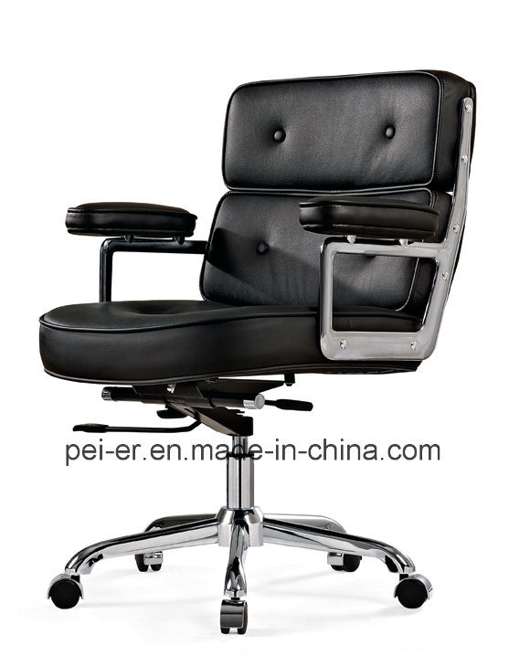 China Leather Upholstery Modern Swivel Eames Office Chair Pe B103 Aluminum