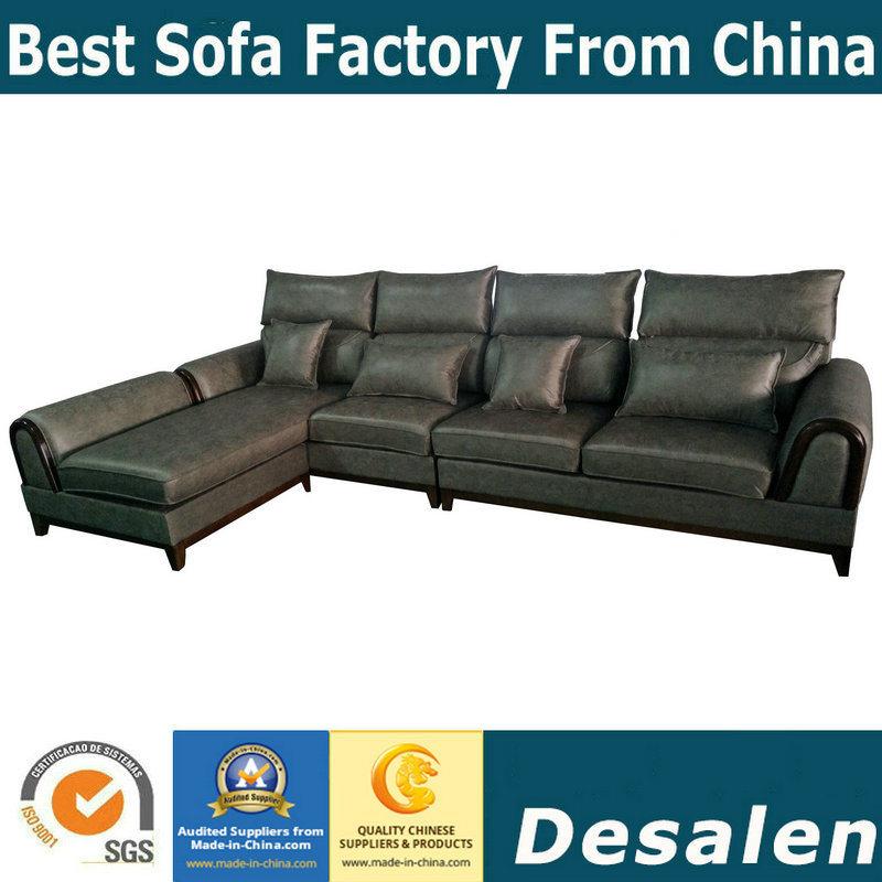 Best Quality Hotel Furniture L Shape Fabric Sofa (1088)
