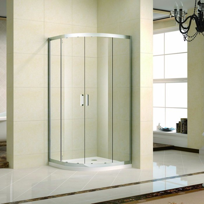 China Latest Stainless Steel Sliding Shower Enclosures/Shower Cabin ...