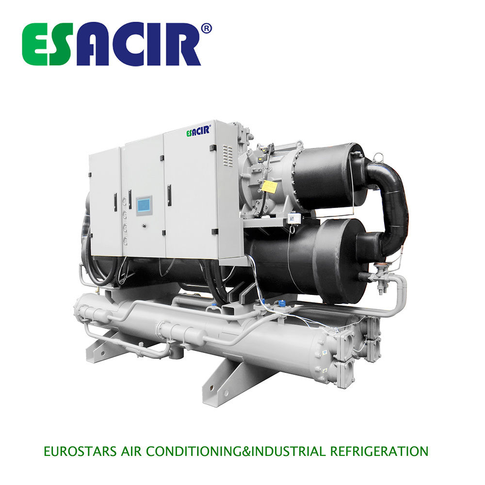 Water Cooled Screw Chiller Air Cooled Water Chiller Commercial Chiller