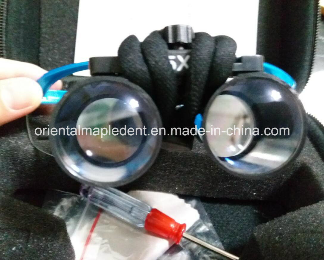 Dental Magnification Binocular LED Loupes (Om-Dl007) pictures & photos