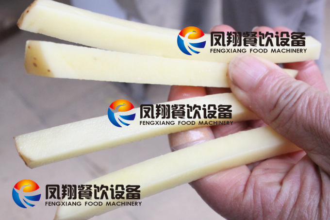 Industrial Automatic Cassava French Fries Potato Chips Cutting Chopping Making Machine pictures & photos