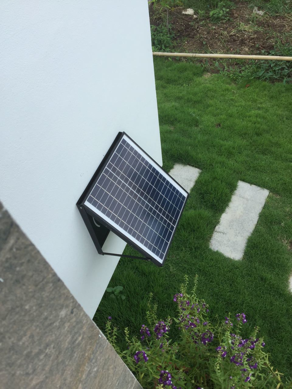 Solar Attic Fan Wall Mount Image Balcony And Attic