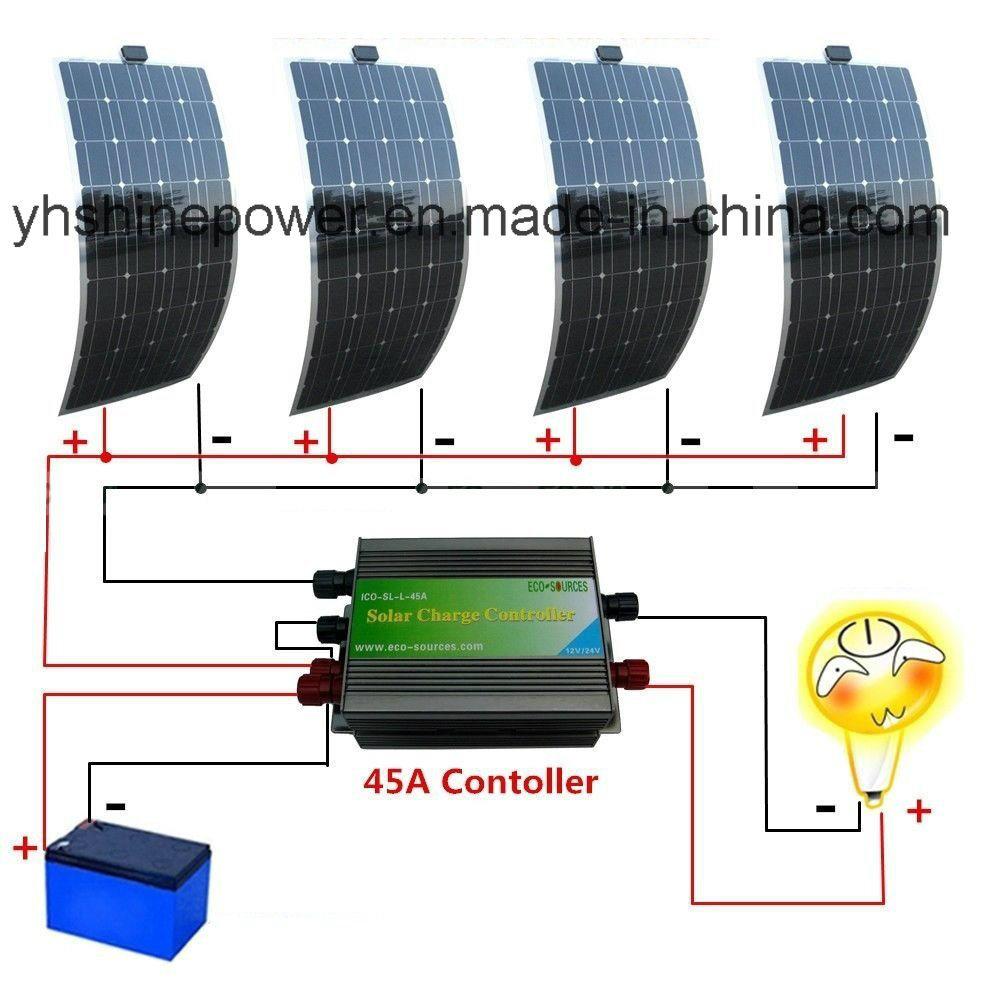 solar panel 300w flexible kit 12v panels solars 150w car