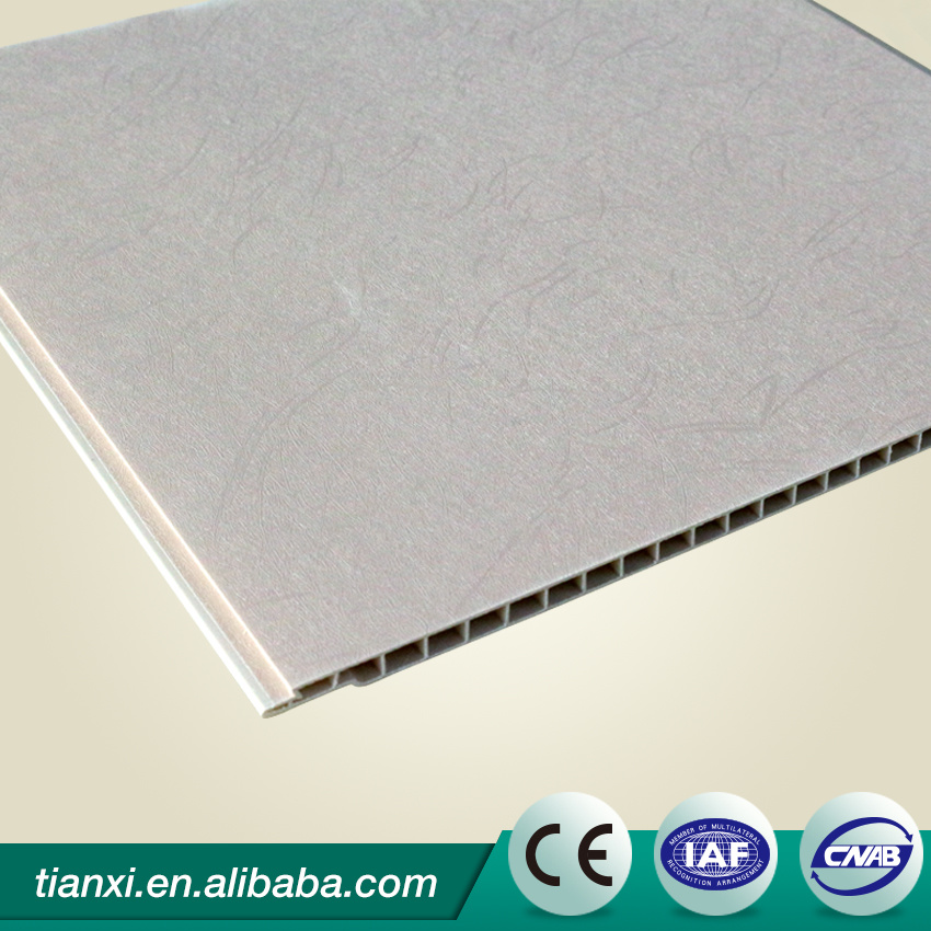 PVC Ceiling Wall Boards Laminated Surface WPC Wall Boards pictures & photos