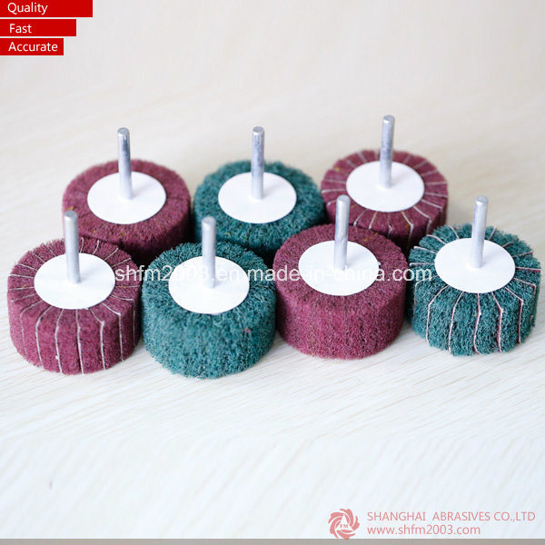 50*25*6mm, P60, Cotton Polishing Tools Abrasive Tools Flap Wheel for Metal pictures & photos