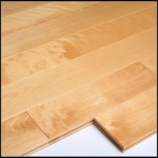 Natural Birch Solid Hardwood Flooring