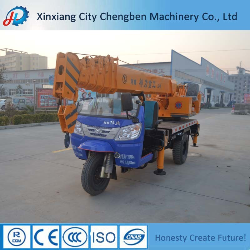[Hot Item] Chinese Mobile 5 Ton Mini Truck Crane for Sale