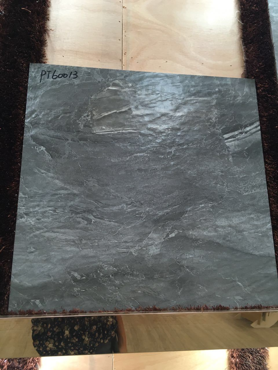 China building material 6060 water proof rock look black ceramic china building material 6060 water proof rock look black ceramic floor tile china building material flooring tile dailygadgetfo Image collections