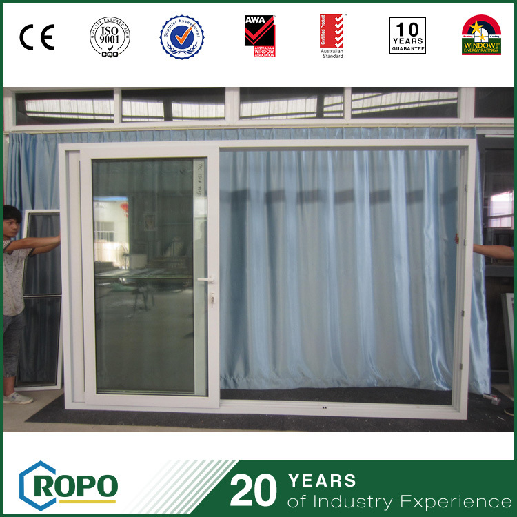 China Pvc Glass Sliding Door Tempered Glass Door For Homes Photos