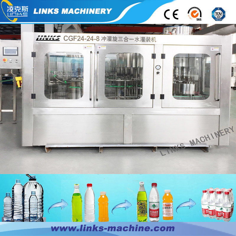 Hot Selling Small Investment Automatic Water Filling and Capping Machine pictures & photos
