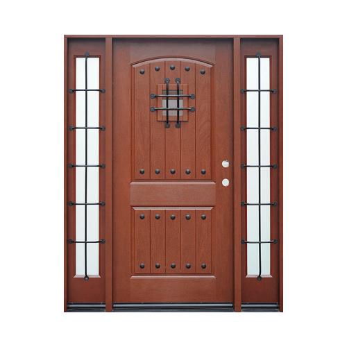 China Interior Door Full Height Glass Doors Frp Composite Door