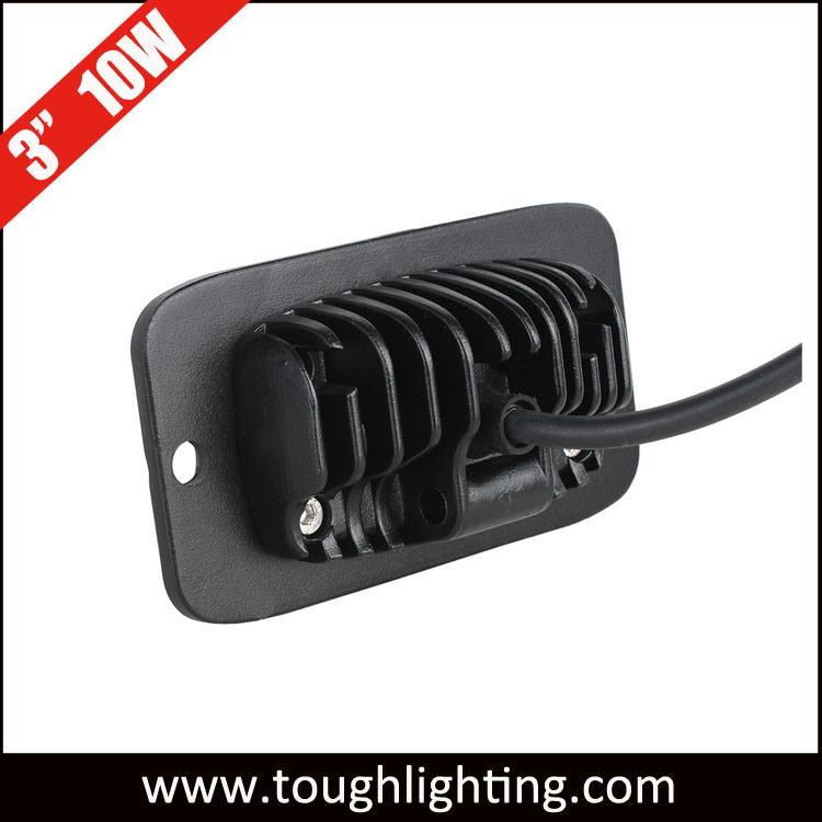 china 12v 3 10w spot flood mini flush mount led work lights for