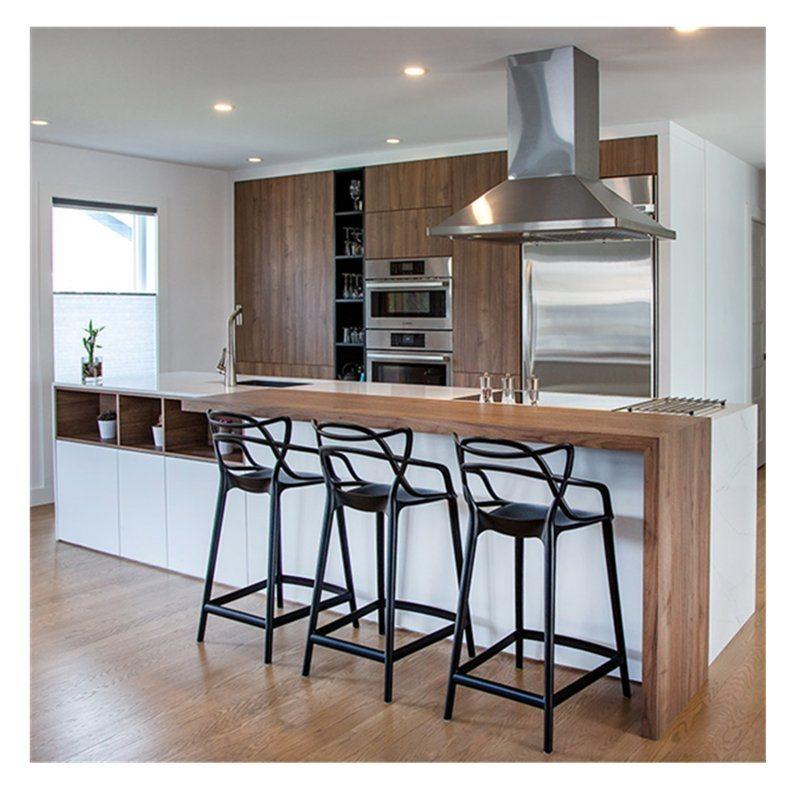 China With Island Set Modern Design White Oak Solid Wood Kitchen Cabinets China Kitchen Cabinets Wood Veneer Kitchen Cabinets