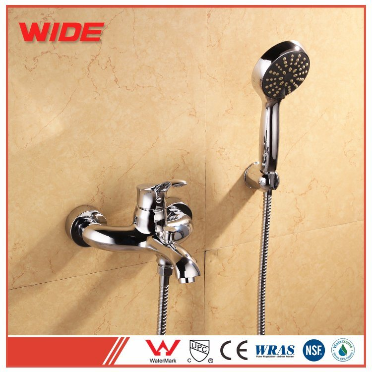 China Cupc Approval Fancy Single Handle Chrome Brass Shower Mixer ...