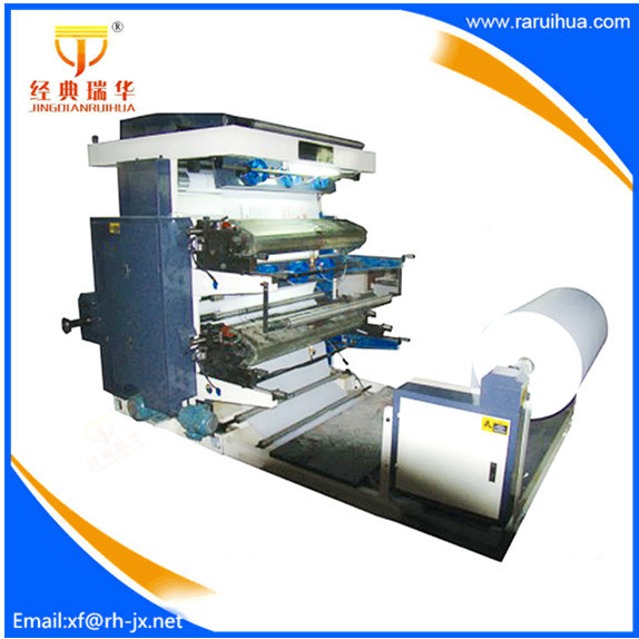 [Hot Item] High Speed Paper Flexo 4 Color Printing Press for Sale