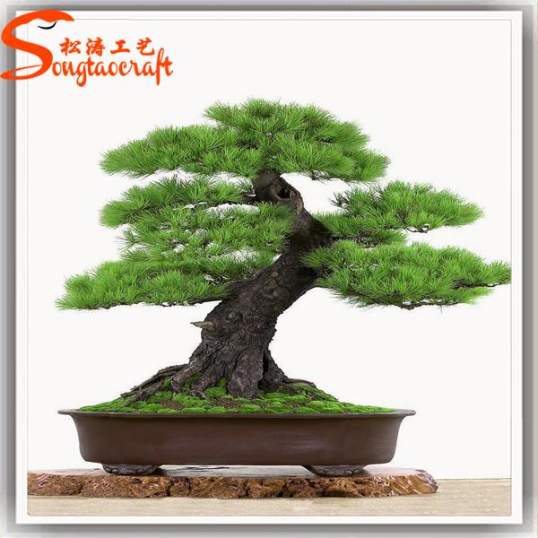 China High Quality Fiber Glass Artificial Bonsai Pine Tree China Artificial Bonsai Pine Tree And Artificial Tree Price