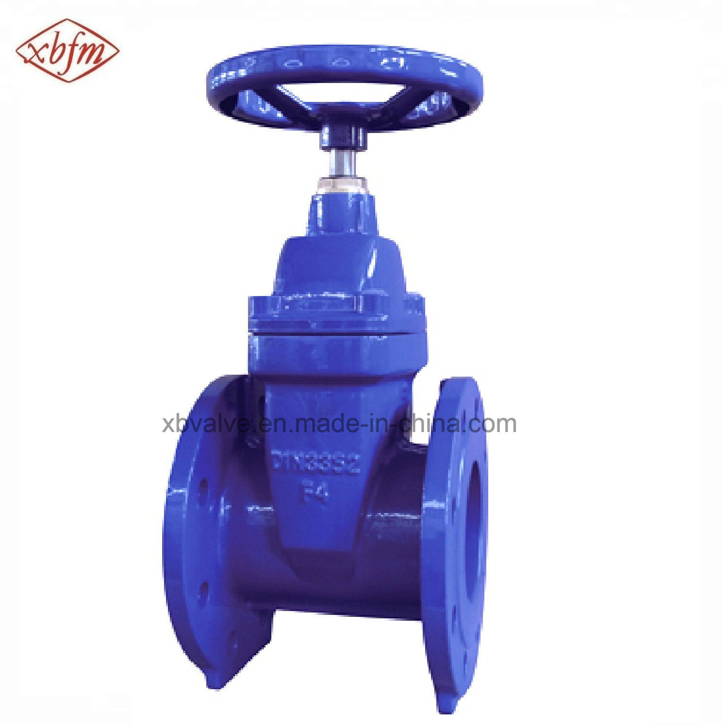 DIN3352-F4 Non-Rising Stem Resilient Soft Seat Gate Valve pictures & photos