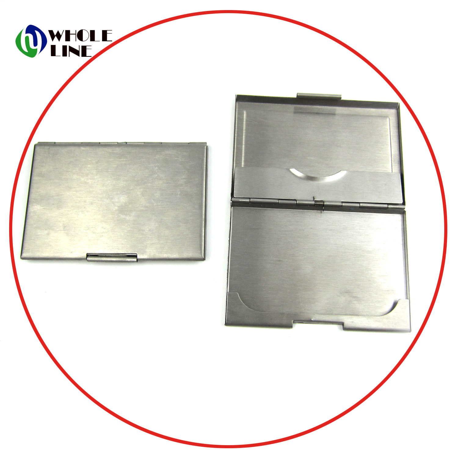 China Whole Stainless Steel Card Box Name Id Business Holder Metal Case