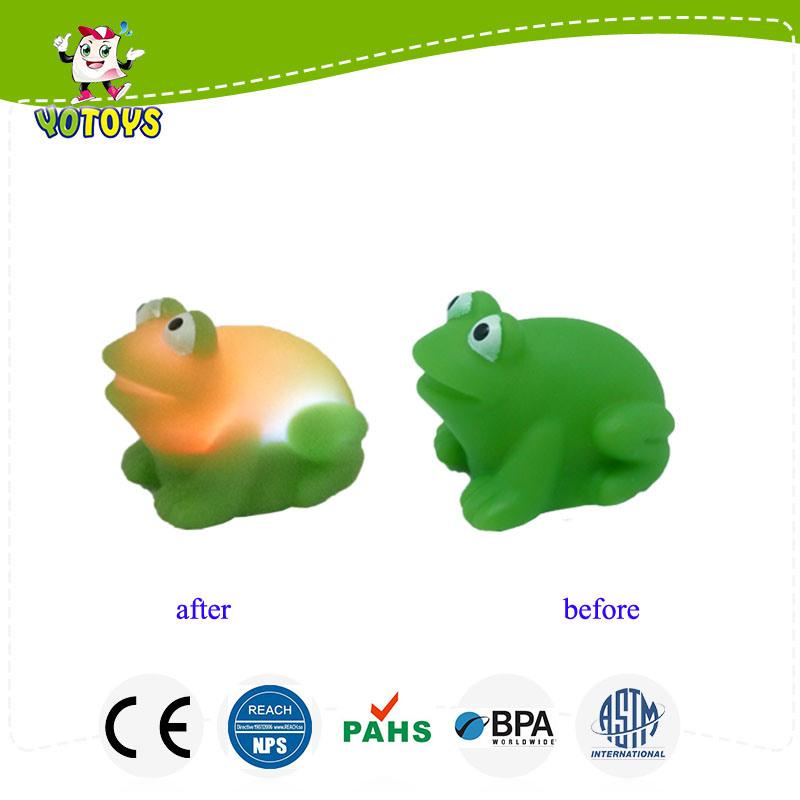 China Floating Frog Infant Toy, Flashing Intelligent Toy ...