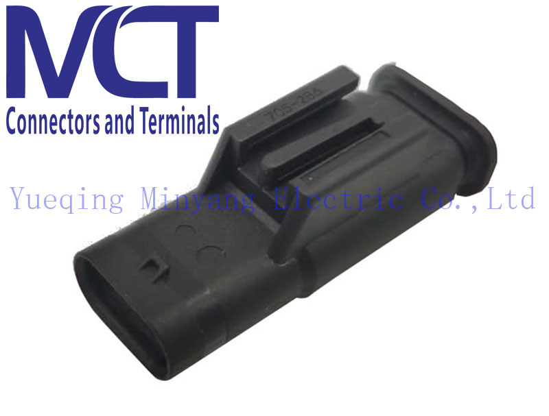 China Ford Hirschmann Electrical Auto Male Wire Harness Assembly Automotive Parts  Connector 705-286 - China Automotive Parts, Hirschmann Connector