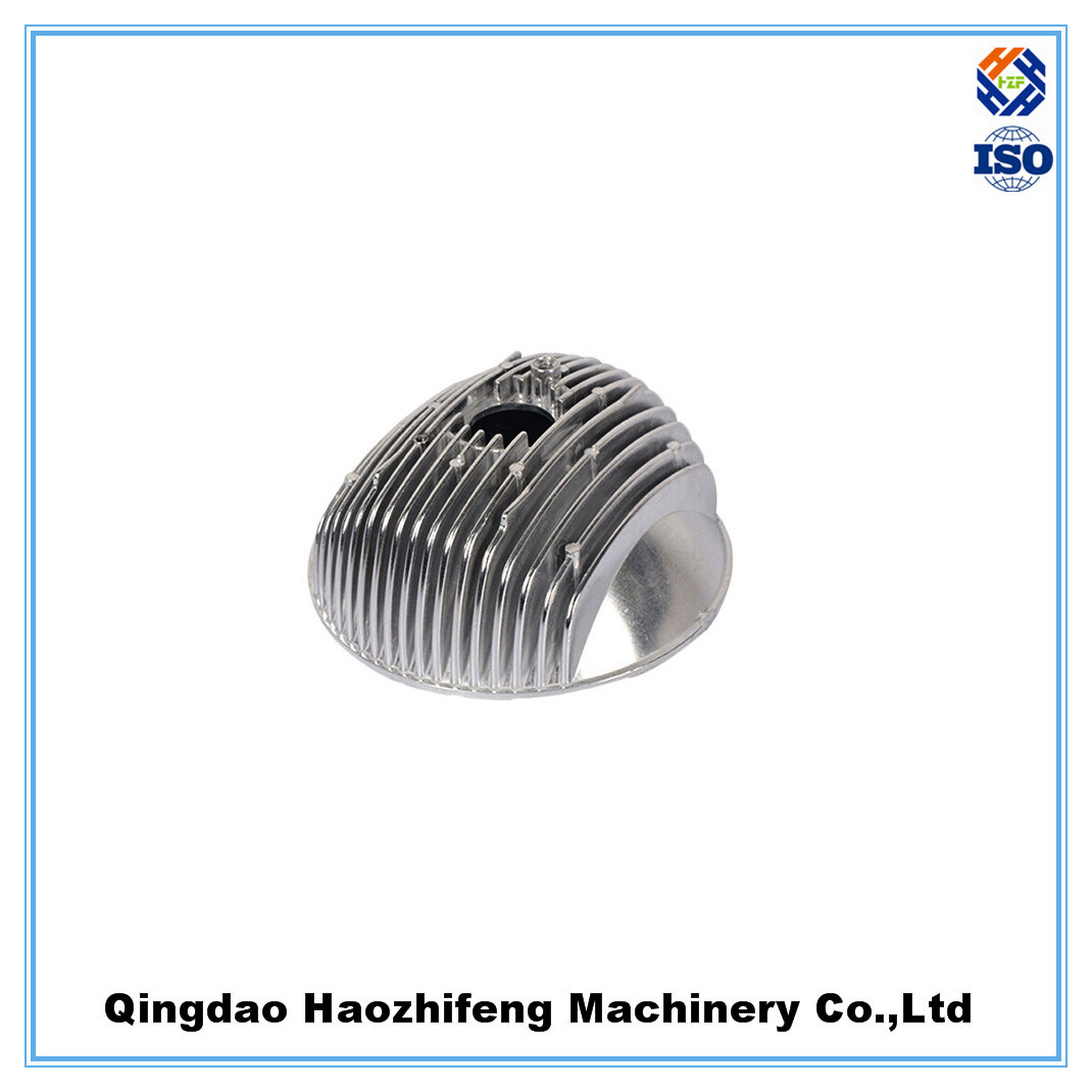 China oem high quality lamp aluminum die casting parts of lighting fixtures china cast parts die casting parts