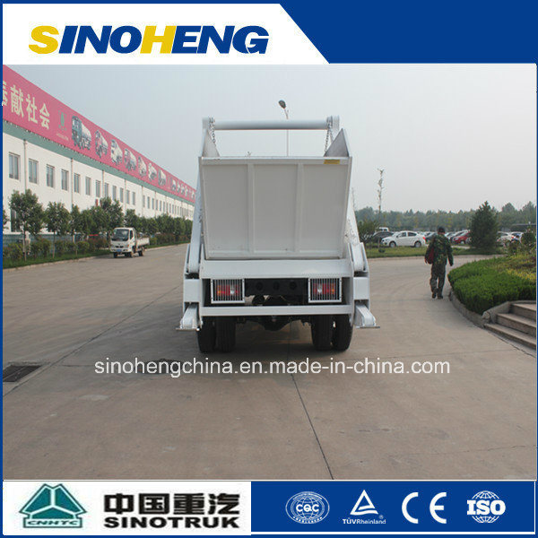 Sinotruk 5 Ton Skip Loader Truck for Transport Garbage pictures & photos
