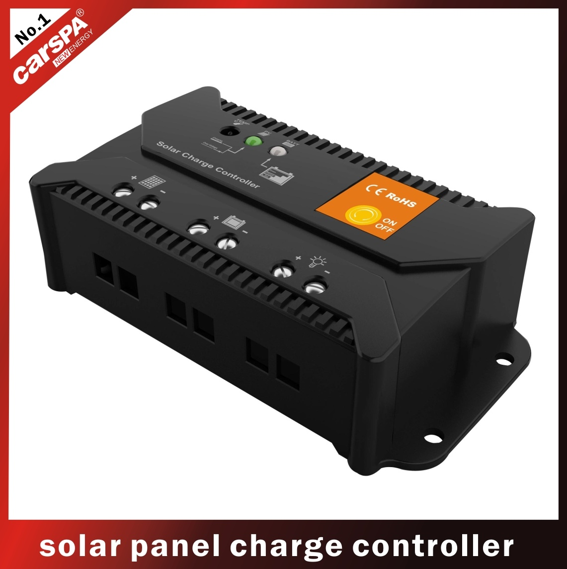 China 10a Ce Rohs Solar Charge Controller Mini Battery