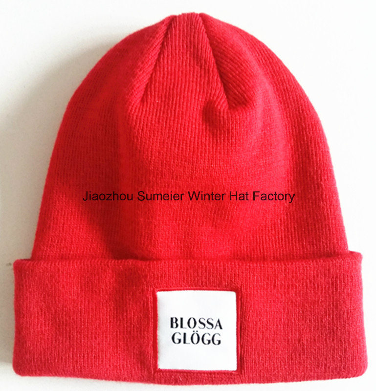 Quality Embroidery Beanie Hats Cap