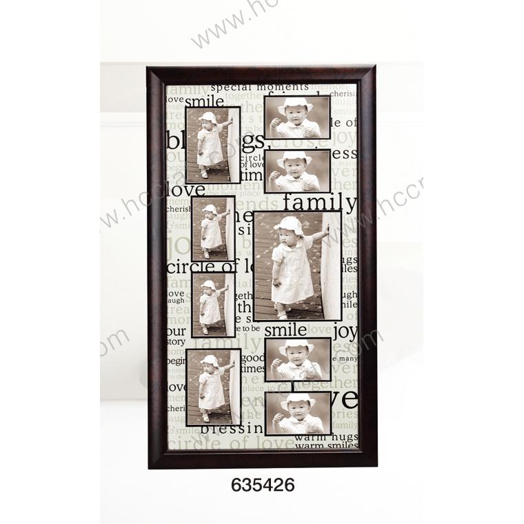 China Mat Black Multiple Frame For Home