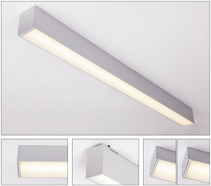 Hot Item Led Ceiling Light Fixture For Office Lighting Linear Design Lighiting Of 5 Years Warranty