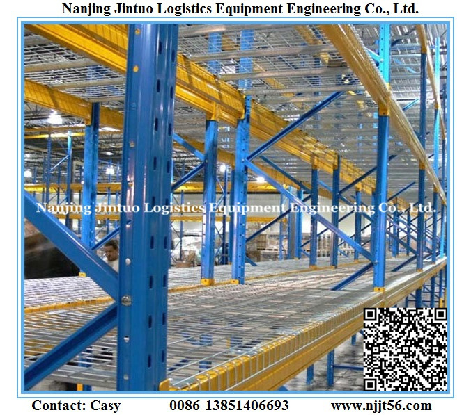 China Warehouse Heavy Duty Galvanized Wire Decking for Pallet Rack ...