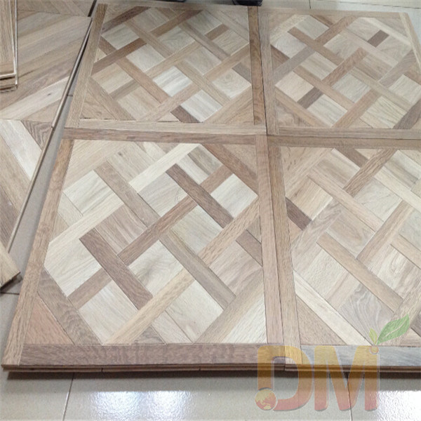 China French Style Solid Wood Unfinished Parquet Versailles Floor