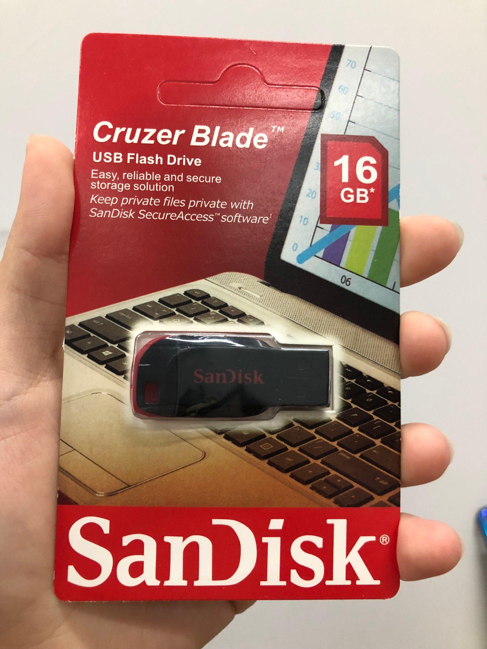 China 100 Full Capacity Original 16gb Usb Flash Drive Memory Sandisk Flashdisk 16 Gb Cruzer Blade