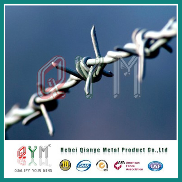 China Wholesale Qym Barbed Wire/ Barbed Wire Price Per Roll - China ...