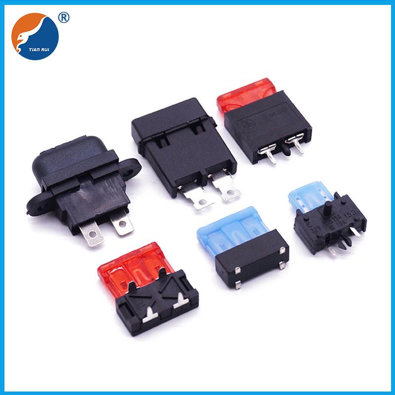 China Mini PCB Panel Mount Blade Fuse Holder - China PCB Fuse Holder, PCB  Fuse ClipDongguan Tianrui Electronics Co., Ltd.