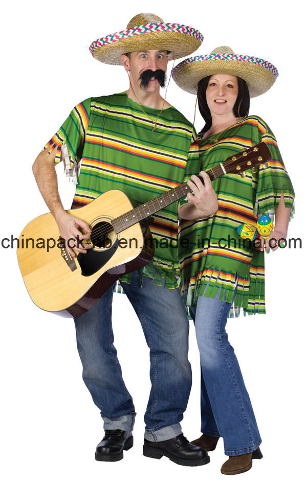 Mexican Serape Cinco De Mayo Costume Cinco De Mayo Fancy Dress pictures & photos