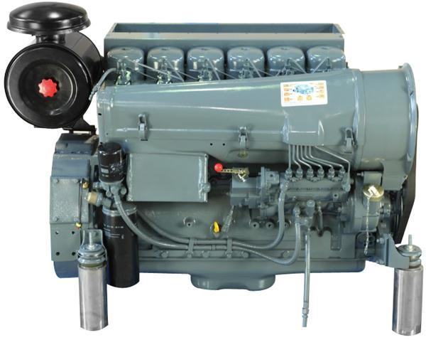 Hot Sale Brand New Air Cooled Turbocharged 6 Cylinders 6 Stroke 118kw (160HP) Deutz Diesel Engine (BF6L913)