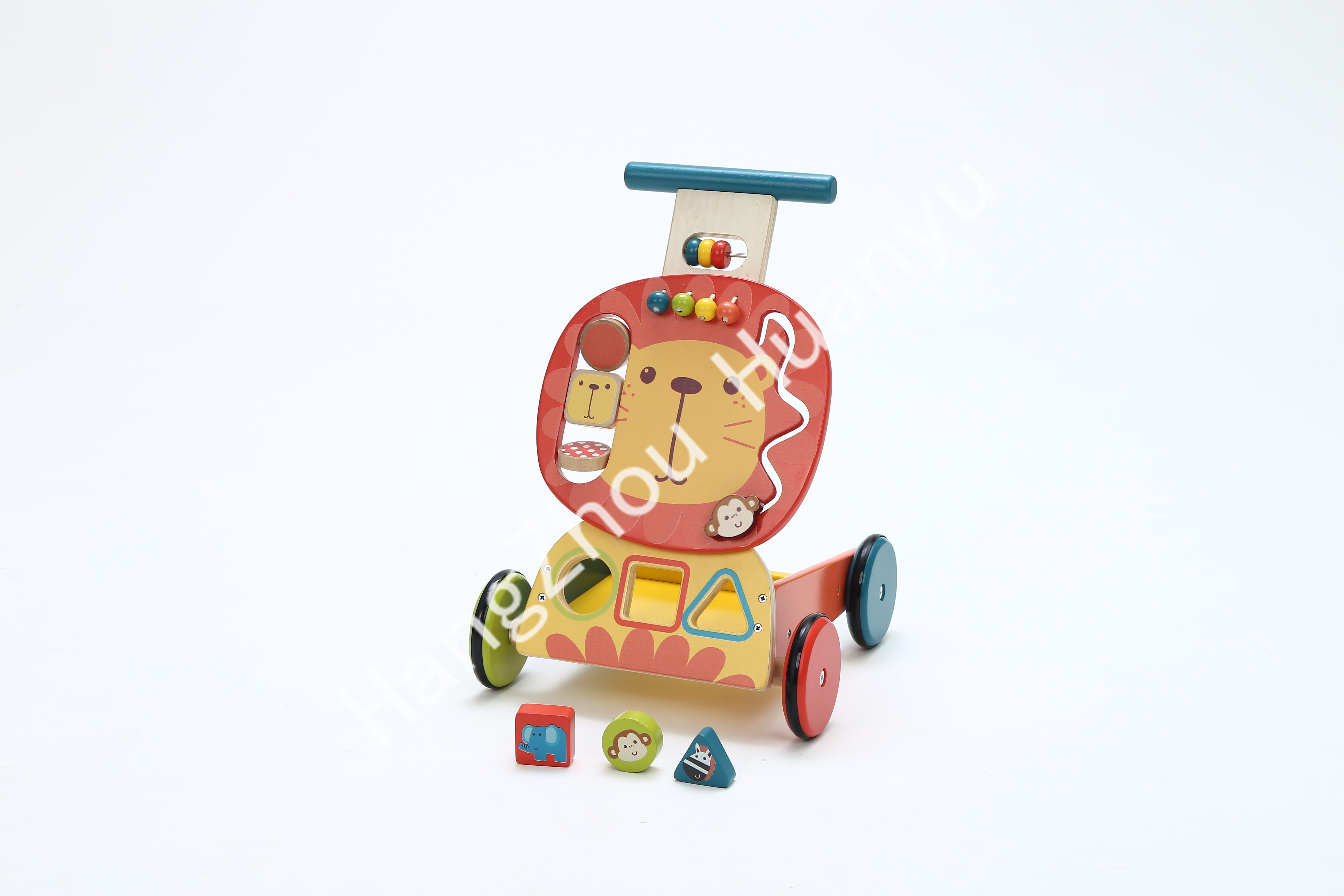 Labebe Wooden Activity Walker for Baby with Blocks pictures & photos