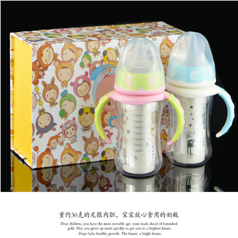 Silver Baby Bottles Recommend PC Nano-S99 for Baby pictures & photos