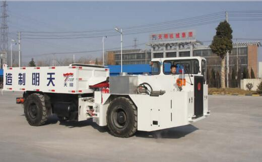 10t Mining Explosion-Proof Trackless Rubber-Tyred Vehicle