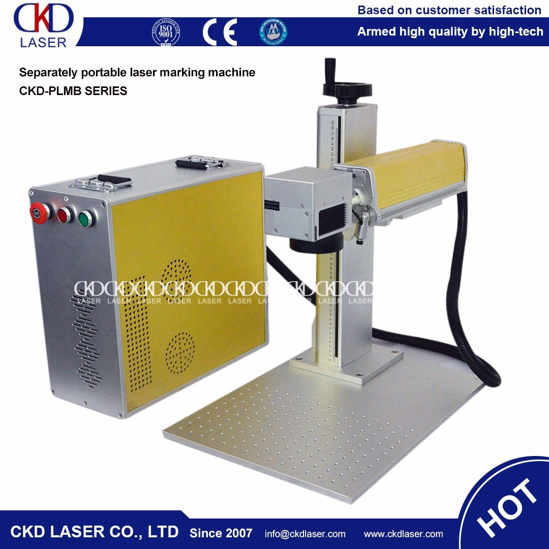 Mark Variable Data Fiber Laser Marking Machine for Mould